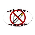 Puff Puff Pass 20x12 Oval Wall Decal