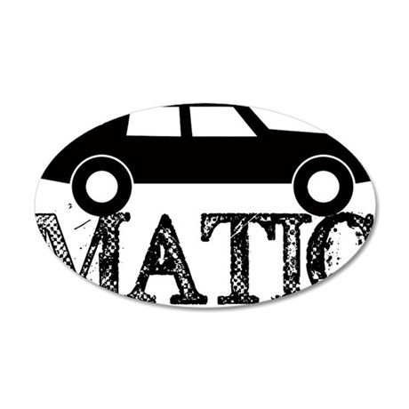 Automatic 20x12 Oval Wall Decal