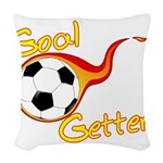Goal Getter Woven Throw Pillow
