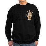High Fived Face Sweatshirt (dark)