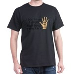 High Fived Face Dark T-Shirt