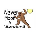 Moon A Werewolf 35x21 Wall Decal