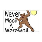 Moon A Werewolf 20x12 Wall Decal
