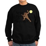 Moon A Werewolf Sweatshirt (dark)