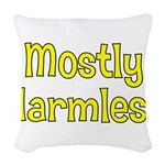 Harmless Woven Throw Pillow