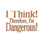 I Think! 35x21 Wall Decal