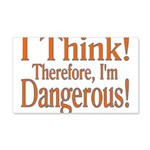 I Think! 20x12 Wall Decal