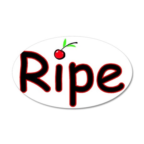 Ripe 35x21 Oval Wall Decal