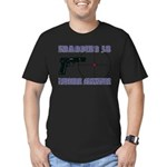 Serious Fragging Men's Fitted T-Shirt (dark)