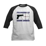 Serious Fragging Kids Baseball Jersey