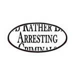 Rather Arrest Criminals Patches