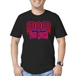 Mom You Rock Men's Fitted T-Shirt (dark)