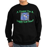 New Year's Toast Sweatshirt (dark)