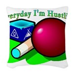 Hustle Everyday 2.png Woven Throw Pillow