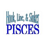 Pisces 35x21 Wall Decal
