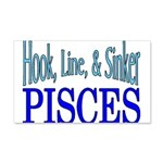 Pisces 20x12 Wall Decal