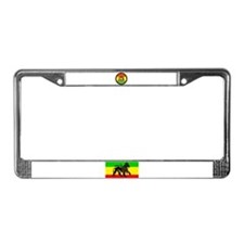 Unique Lion of judah License Plate Frame