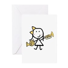 Mello & French Horn Greeting Cards (Pk of 10)