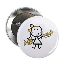 "Mello & French Horn 2.25"" Button"