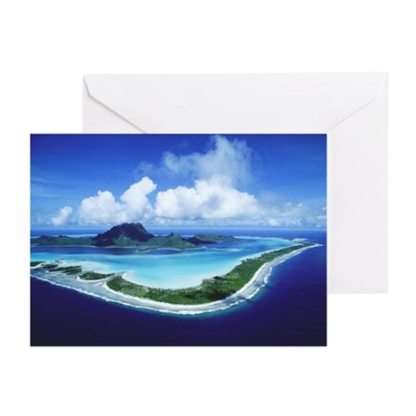 BORA BORA (Blank)Greeting Cards (Pk of 10)