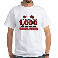 1,000-POUND TOTAL CLUB! Women's Pink T-Shirt