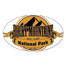rocky mountains 5 Decal