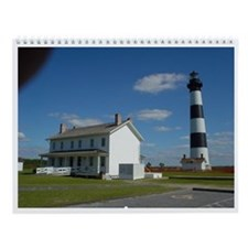Cute Outer banks nc Wall Calendar