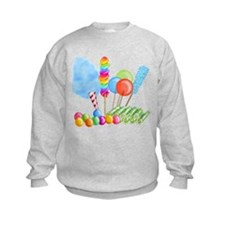 candy circus boy- png Sweatshirt