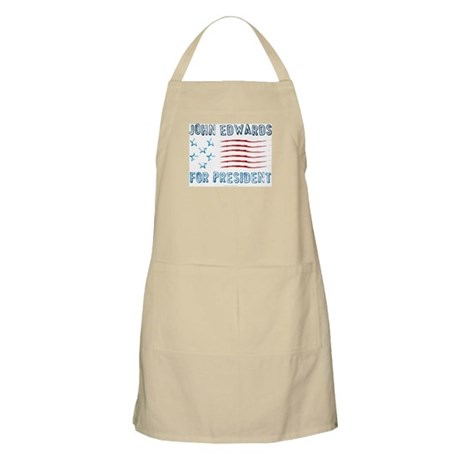 John Edwards for President BBQ Apron