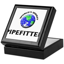 World's Sexiest Pipefitter Keepsake Box