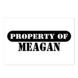 Property of Meagan Postcards (Package of 8)