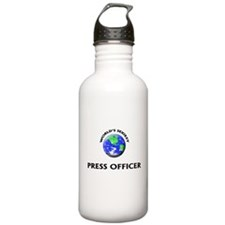 World's Sexiest Press Officer Water Bottle