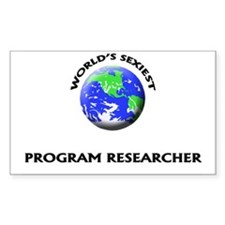 World's Sexiest Program Researcher Decal