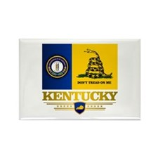 Kentucky Gadsden Flag Rectangle Magnet (10 pack)