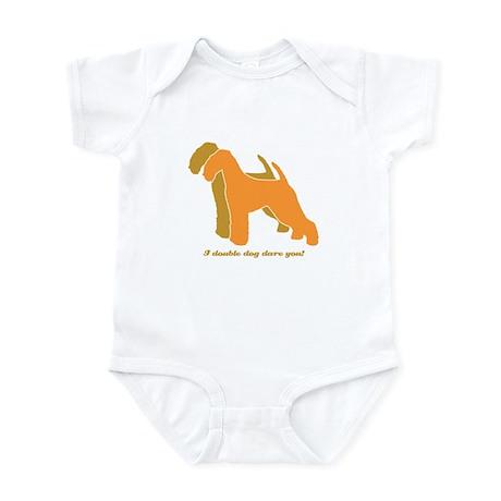 Airedale Terrier Double Dog Infant Bodysuit