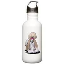 Shih Tzu Show Girl Water Bottle