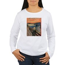 scream shirt Long Sleeve T-Shirt