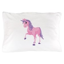 Pink Unicorn Pillow Case