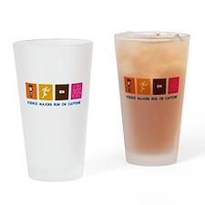 Science Majors Run On Caffeine Drinking Glass