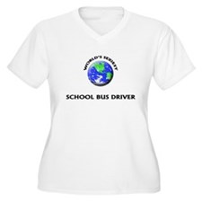 World's Sexiest School Bus Driver Plus Size T-Shir