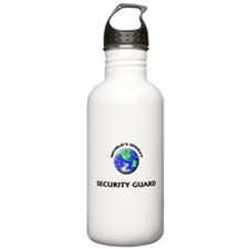 World's Sexiest Security Guard Water Bottle
