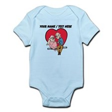 Personalized Old Couple In Love Body Suit