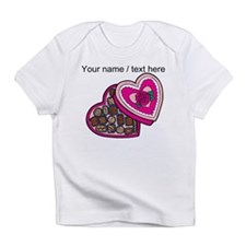 Personalized Chocolates In Heart Box Infant T-Shir