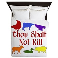 Thou Shalt Not Kill Queen Duvet