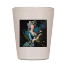 Marie Antoinette with Rose Shot Glass