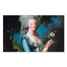 Marie Antoinette with Rose Decal