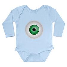 Bloodshot Green Eyeball Body Suit