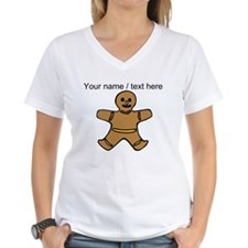 Personalized Gingerbread Cookie T-Shirt