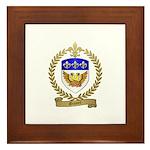 GIONET Family Crest Framed Tile