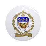 GIONET Family Crest Ornament (Round)